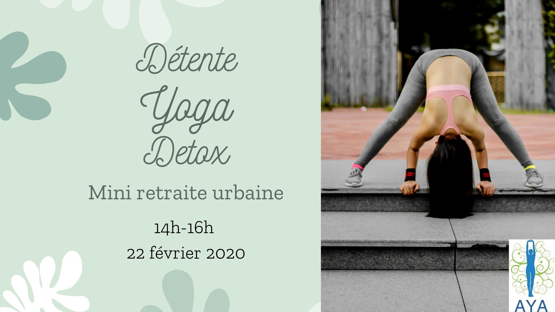 Atelier Détente Yoga Détox