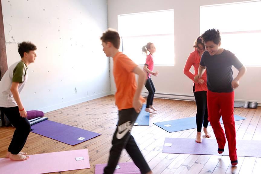 Ergothérapie et yoga pour enfants 9-16 yrs
