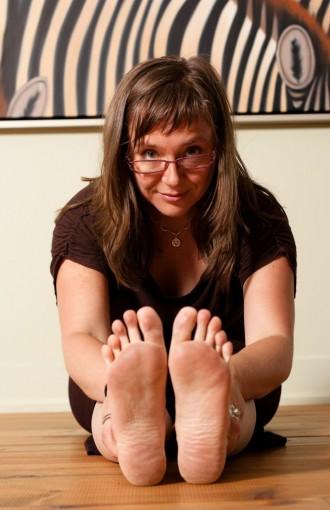 Astrid Abelé, professeur de yoga